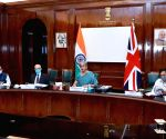 Nirmala Sitharaman participates in 10th India-UK Economic and Financial Dialogue