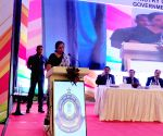 Nirmala Sitharaman interacts with tax officials