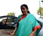 Nirmala Sitharaman at Parliament