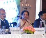 Nirmala Sitharaman interacts with opinion makers on Union Budget 2020