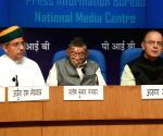 Arun Jaitley addressing a press conference