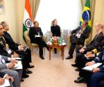 6th Moscow Conference - Arun Jaitley meets Brazilian Defence Minister