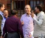 Cabinet Meeting - Jaitley, Goyal