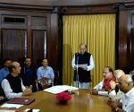 Jaitley takes oath for Rajya Sabha term