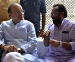 Eid Milan programme at Mukhtar Abbas Naqvi residence