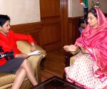Indra Nooyi calls on Union Food Processing Minister