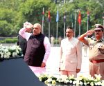 Amit Shah pays homage to martyrs at National Police Memorial