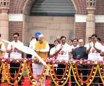 Sardar Vallabh Bhai Patel's 144th birth anniversary - Amit Shah flags off 'Run for Unity