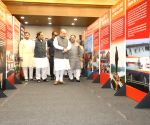 Amit Shah inaugurates exhibition on PM Modi's life and works
