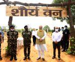 Amit Shah launches nationwide tree plantation drive at CRPF Camp