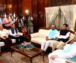 Amit Shah meets Ministers of State for Home Affairs