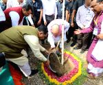 Amit Shah during 'Mission Million Trees' campaign