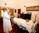 Amit Shah pays his last respects to Ram Jethmalani