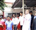 Amit Shah visits Kamakhya Temple
