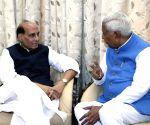 Rajnath Singh meets Karnataka Governor