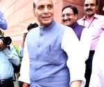 Rajnath Singh at the Parliament