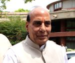 Rajnath arrives in Srinagar on day-long visit
