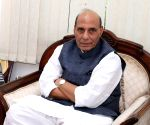 BJP MP demands law for Ram temple at party meet, Rajnath Singh calls for patience