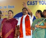 Smriti Irani campaigns for BJP