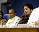 Smriti Irani, TC Gehlot press conference