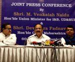 Venkaiah Naidu, Fadnavis - joint press conference