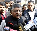 Ravi Shankar Prasad meets PMJAY beneficiaries