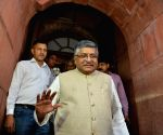 Ravi Shankar Prasad at Parliament