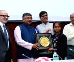 Ravi Shankar Prasad at 1st Anniversary celebrations of India Post Payments Bank