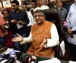 Ravi Shankar Prasad takes charge