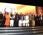 Global Investor's summit - Ravi Shankar Prasad, Arun Jaitley, Narendra Singh Tomar, Shivraj SinghChouhan, Anil Ambani, Kumar  Mangalam Birla