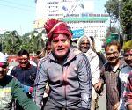 Holi celebrates - Ram Kirpal Yadav