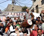"""Vijay Goel at BJP's """"Dhol Andolan"""