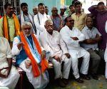Buxar (Bihar): 2019 Lok Sabha elections - Ashwini Kumar Choubey during poll campaign