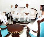 Ram Vilas Paswan meets  Nitish Kumar
