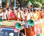 DV Sadanada Gowda campaigns for Sudhakar