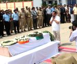 Pulwama militant attack - martyr Guru H's coffin (Batch-2) *