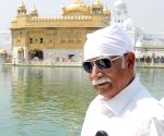 Ashok Gajapathi Raju Pusapati at Golden temple