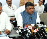 Ravi Shankar Prasad's press conference