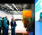 Madrid (Spain): Prakash Javadekar visits India Pavilion at COP 25