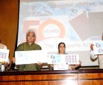 Sushma Swaraj releases postage stamp to mark the completion of 50 years of the Passport Act