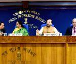 Cabinet briefing - Nirmala Sitharaman, Prakash Javadekar