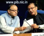 Arun Jaitley, Jayant Sinha - press conference