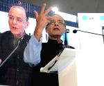 Arun Jaitley during the launch of SBI's 'Mobile Wallet - Anyone-Anytime-Anywhere'