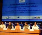 Jaitley's press conference regarding IFFI