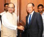 World Bank President  calls on Jaitley