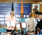 India, Germany sign an MoU