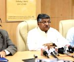Union Minister Ravi Shankar Prasad inaugurates the MeitY- Dashboard