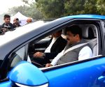 Demonstration and Experimental driving of xEV vehicles - Dharmendra Pradhan