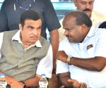 Hassan (Karnataka): Gadkari unveils 3 national highway projects in Karnataka