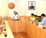 Venkaiah Naidu interacts with press